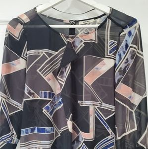 Mexx Blouse Gray and Pink